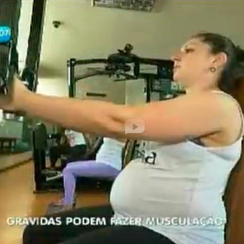 Grávidas devem praticar atividades física
