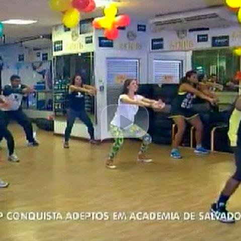 Hip hop conquista adeptos em academia de Salvador