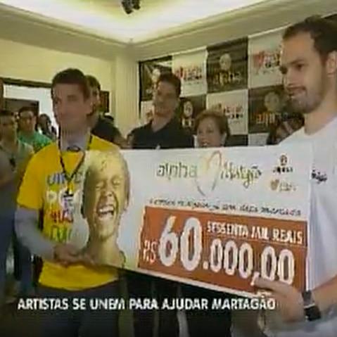 Artistas se unem para ajudar o Martagão