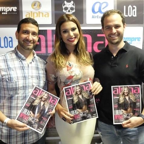 Festa para o lançamento da 8ª edição da Revista Alpha