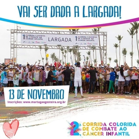 Rede Alpha Fitness promove aulão de zumba na corrida colorida do Martagão Gesteira