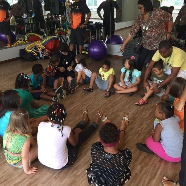 Academia da Alegria marca dia da Síndrome de Down na Apha Fitness