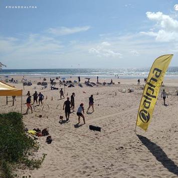 FITNESS NA PRAIA: Rede Alpha Fitness realiza projeto de aulões gratuitos em diferentes pontos de Salvador