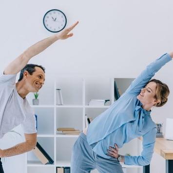 Investir em uma rotina saudável aumenta a produtividade no trabalho