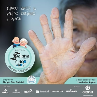 Alpha Social completa cinco anos com campanha especial em prol do Abrigo São Gabriel