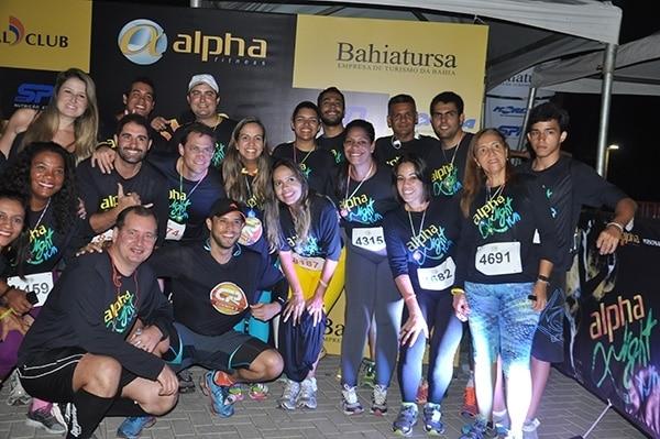 Esporte e diversão na Alpha Night Run