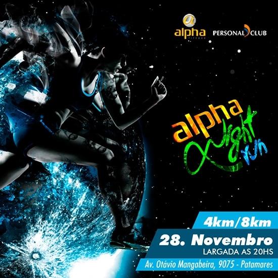 Alpha Night Run inscreve até o dia 24