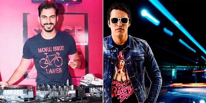 DJs Luan Delucci e Rafa Gouveia encerram