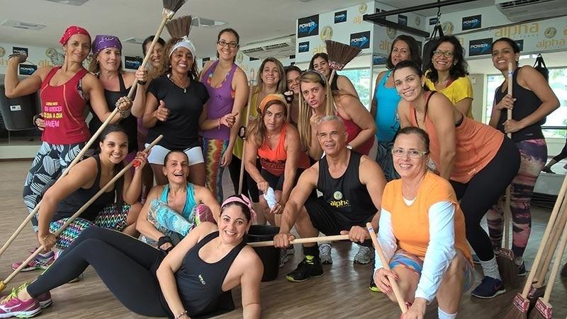 Rede Alpha Fitness promove aula de Cross House