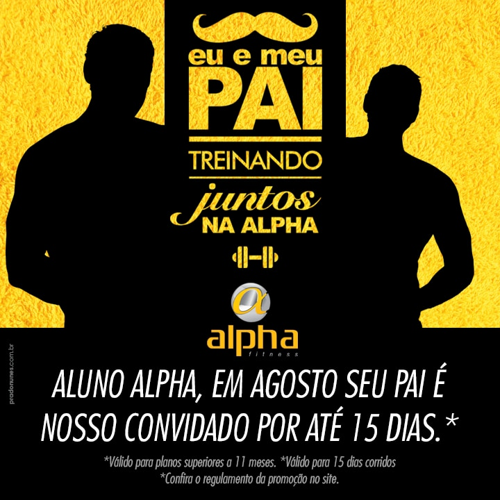 Regulamento Dia dos Pais Alpha
