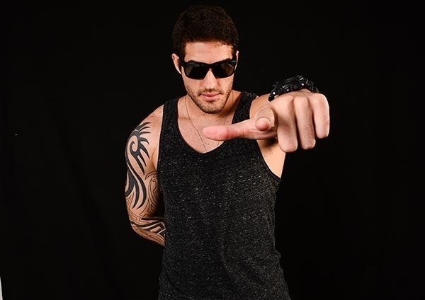 Hoje tem Dan Libório no Alpha Music & Fitness