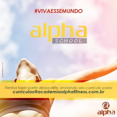 Com vagas gratuitas Alpha School inscreve até quarta (1º/07)