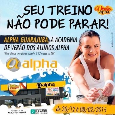 """Alpha Fitness monta """"academia de verão"""" exclusiva para alunos no Litoral Norte"""