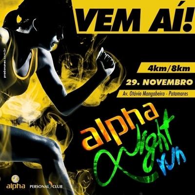 Rede Alpha Fitness confirma projeto de corrida noturna em Salvador