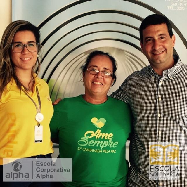 Rede Alpha Fitness firma parceria para entrega de donativos à Fundação Lar Harmonia