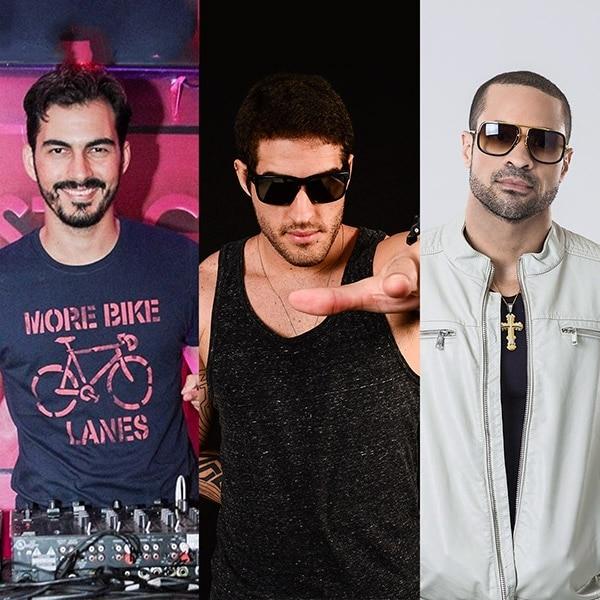 Djs Luan Delucci, Dan Libório e Monstro agitam o Alpha Music & Fitness desta semana