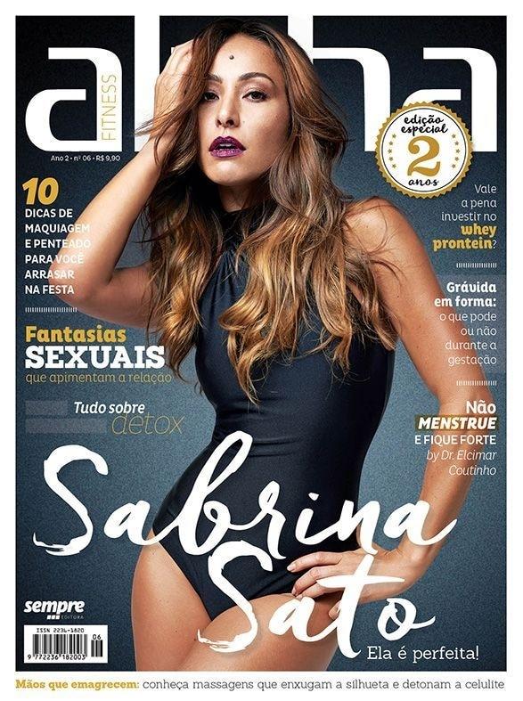 Sabrina Sato é estrela da capa da sétima edição da Revista Alpha