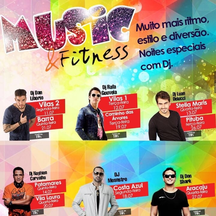 Das pistas para a academia: DJs comandam mais uma edição do Music & Fitness na Rede Alpha Fitness