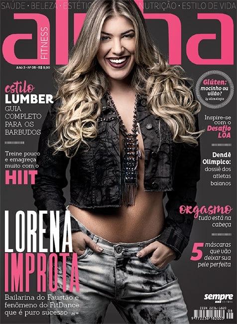 Lorena Improta estrela capa da oitava edição da Revista Alpha