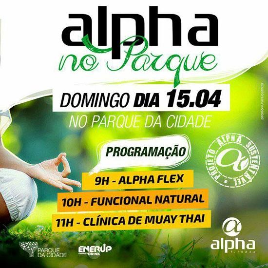 Academia oferece aulas gratuitas no Parque da Cidade neste domingo (15)