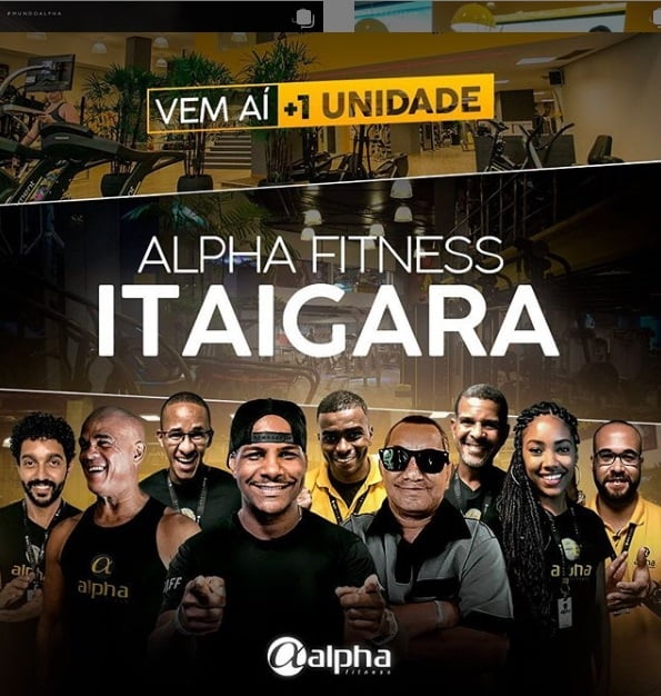 Rede Alpha Fitness anuncia nova unidade no Itaigara, em Salvador