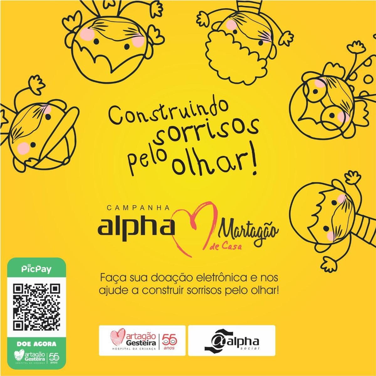 Rede Alpha Fitness lança campanha em prol do Hospital Martagão Gesteira